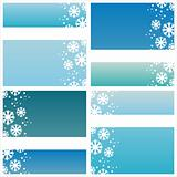 stylish winter backgrounds