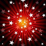 Sun Rays and Stars
