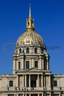 Church of Hotel des invalides, Paris, France