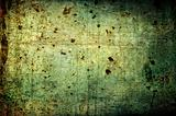 Abstract grunge background: scratches, dirt, rust, spots