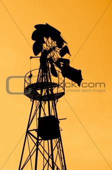 Old Farm Windmill