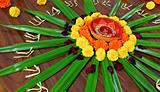 IMG_4566 S Floral design display Hindu Festival custom