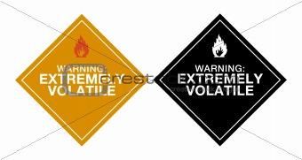 Warning Extremely Volatile