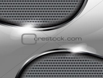 abstract gray steal background