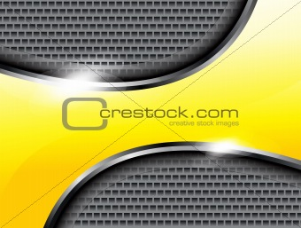 abstract yellow shiney mattlale background