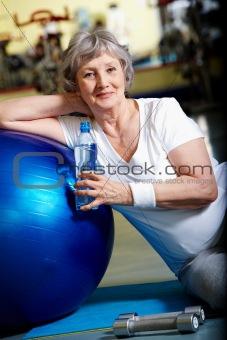 Break in gym