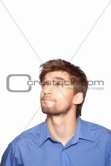 Businessman emotion