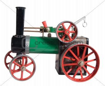 Old Toy Steam Engine