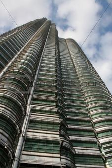 Skyscraper in downtown