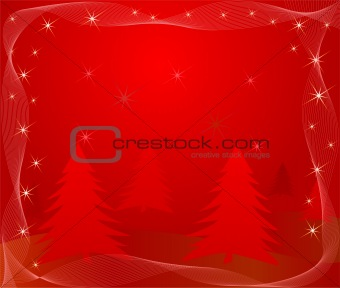 Abstract   Christmas background - vector
