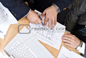 architect business meeting