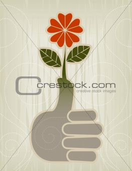Thumbs Up | Green Thumb Icon