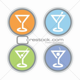Martini Cocktail Icon