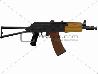 The weapon the automatic device kalashnikov