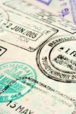 Passport background