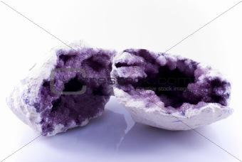crystals of amethyst