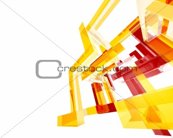 Abstract Archi Structure003