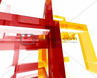 Abstract Archi Structure005