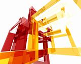 Abstract Archi Structure006