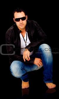 fashion male model portrait
