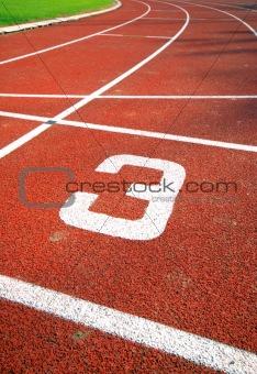 Runners racetrack