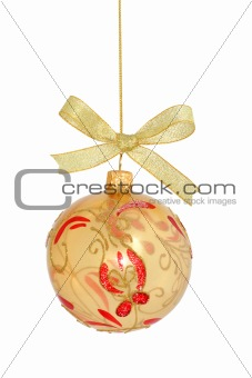 Christmas Ball Series / isolated / hand made clipping path inclu