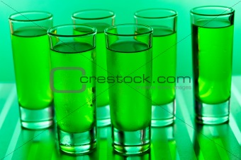 Green shots