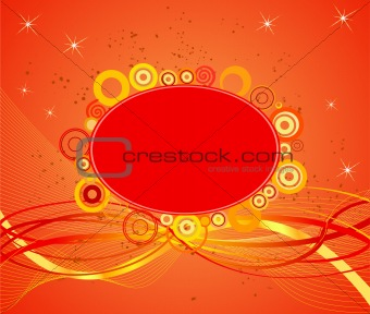 Abstract  artistic  background - illustration