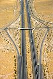 Interstate in desert.