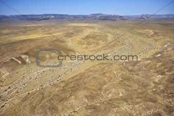Mojave Valley landscape.