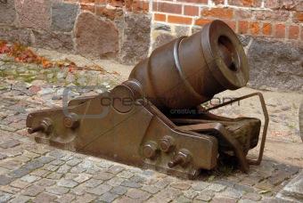 cannon in Malbork