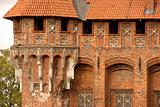 castle tower in Malbork