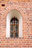 window in an Malbork csatle