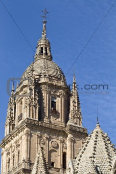Tower of the Salamanca cathedral