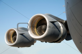 Airplane engines