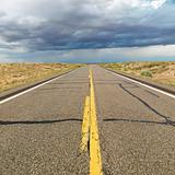 Desert highway.