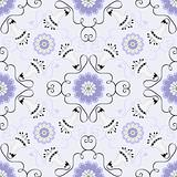 Gentle gray seamless ornament