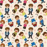 seamless student pattern