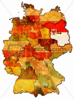 Brandenburg and other german provinces(states)