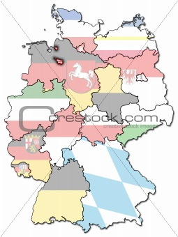 Bremen and other german provinces(states)