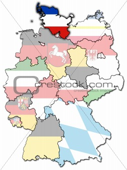 Schleswig-Holstein and other german provinces(states)