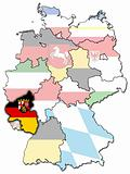 Rhineland-Palatinate and other german provinces(states)
