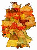 Saarland and other german provinces(states)