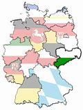 Saxony and other german provinces(states)