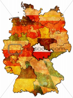 thuringia and other german provinces(states)
