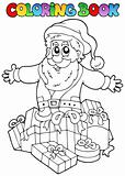 Coloring book Christmas topic 7