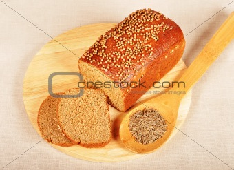 Bread with spices