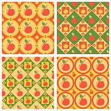 cute apples patterns