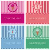 cute ice cream frames