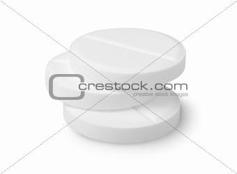 Three tablets